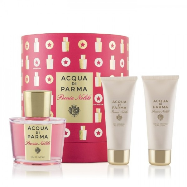 Acqua Di Parma Peonia Nobile 100ml Edc + Showegel + Bodylotion Geschenkset