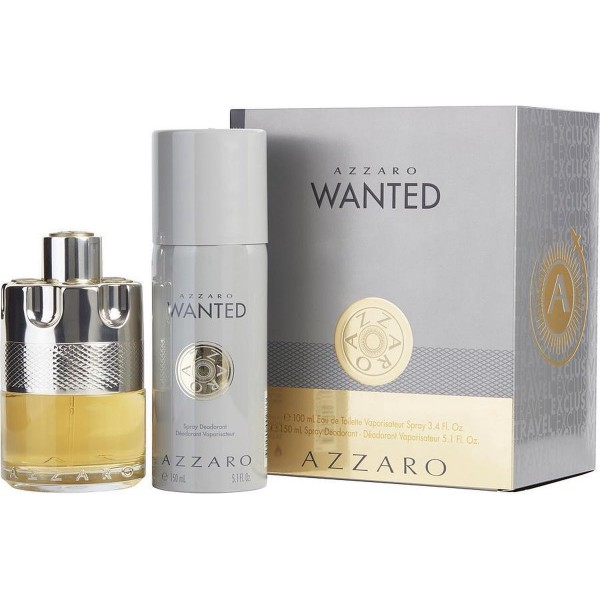 Azzaro Wanted 100ml Edt + Deospray 150ml  Geschenkset