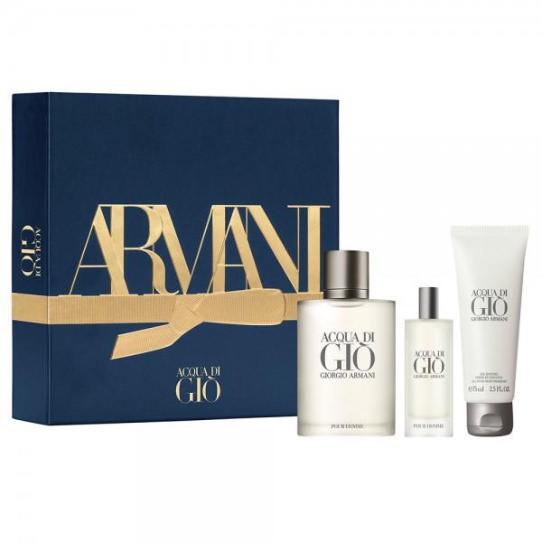 Armani Acqua di Gio 100ml Edt + Mini + Showergel Geschenkset