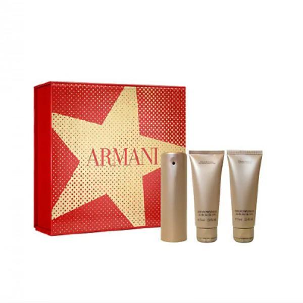 Armani Emporio She 50ml Edp + Showergel + Bodylotion Geschenkset