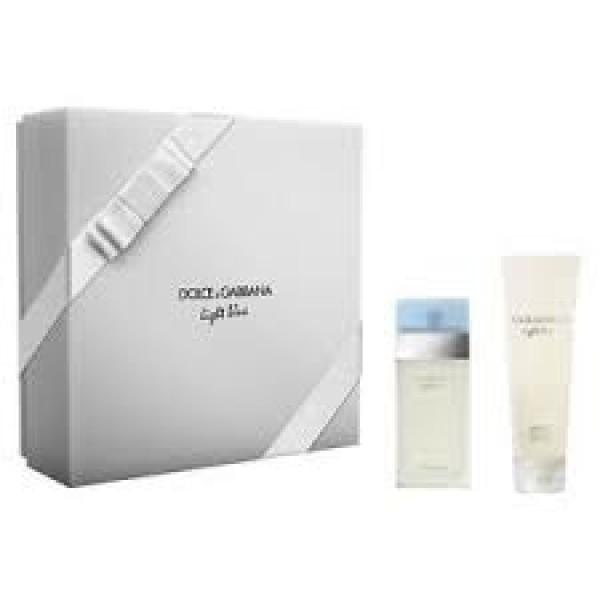 Dolce & Gabbana Light Blue 25 ml edt + 50 BC Geschenkset set