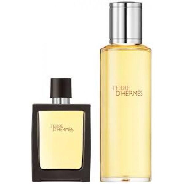 Hermes Terre D Hermes 30 ml Edp + 125 ml Edp Refillable Geschenkset