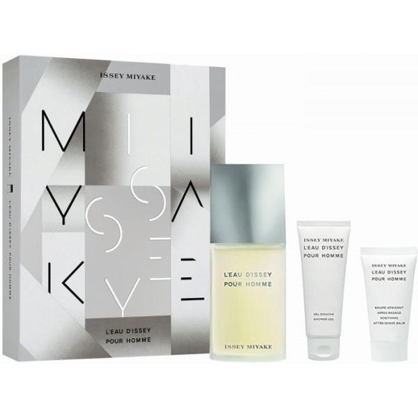 Issey Miyake L'Eau D'Issey Men 125ml Edt + Showergel + Asb Geschenkset