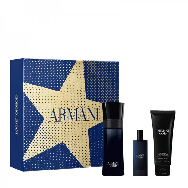 Armani Code Pour Homme 75ml Edt + 15ml Edt + Douchegel Geschenkset